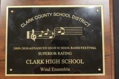 2010 - CCSD Concert Band Festival