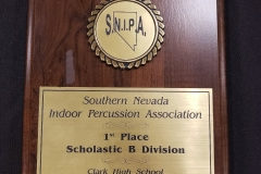 2008 - SNIPA Indoor Percussion