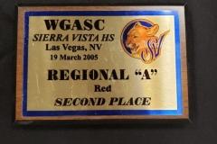 2005 - WGASC Sierra Vista