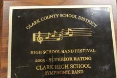 2005 - CCSD Concert Band Festival
