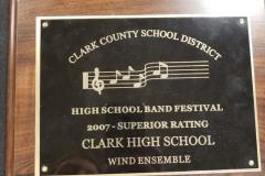 2007 - CCSD Concert Band Festival