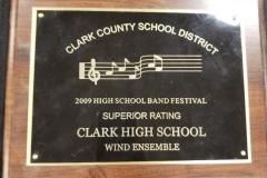 2009 - CCSD Concert Band Festival
