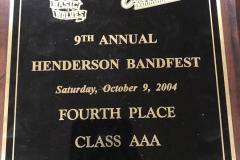 2004 - Henderson BandFest