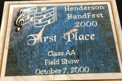 2000 - Henderson BandFest