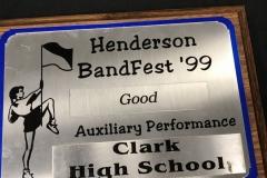 1999 - Henderson Bandfest