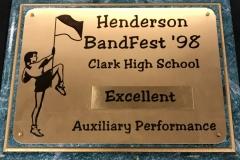1998 - Henderson BandFest