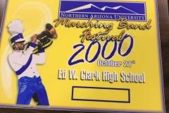 2000 - NAU Marching Band Festival