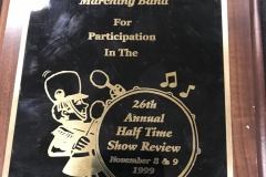 1999 - Half Time Show Review
