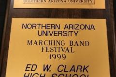 1999 - NAU Marching Band Festival