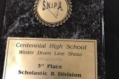 2007 - SNIPA Centennial