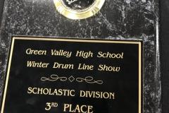 2006 - Green Valley Winter Drum Line Show