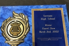 2002 - Serrano High School Winter Guard Show