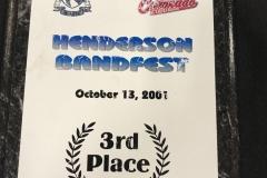 2001 - Henderson BandFest