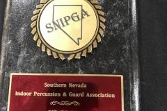 2012 - SNIPGA Indoor Percussion