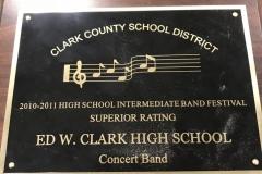 2011 - CCSD Concert Band Festvial