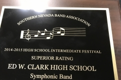 2015 - CCSD Concert Band Festival